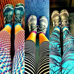 I have a serious #legging addiction... Three of my favorite pairs so far this summer! #xxfitness #activewear