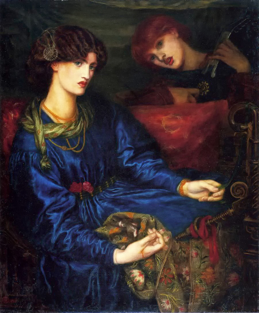 Mariana by Dante Gabriel Rossetti - 1870