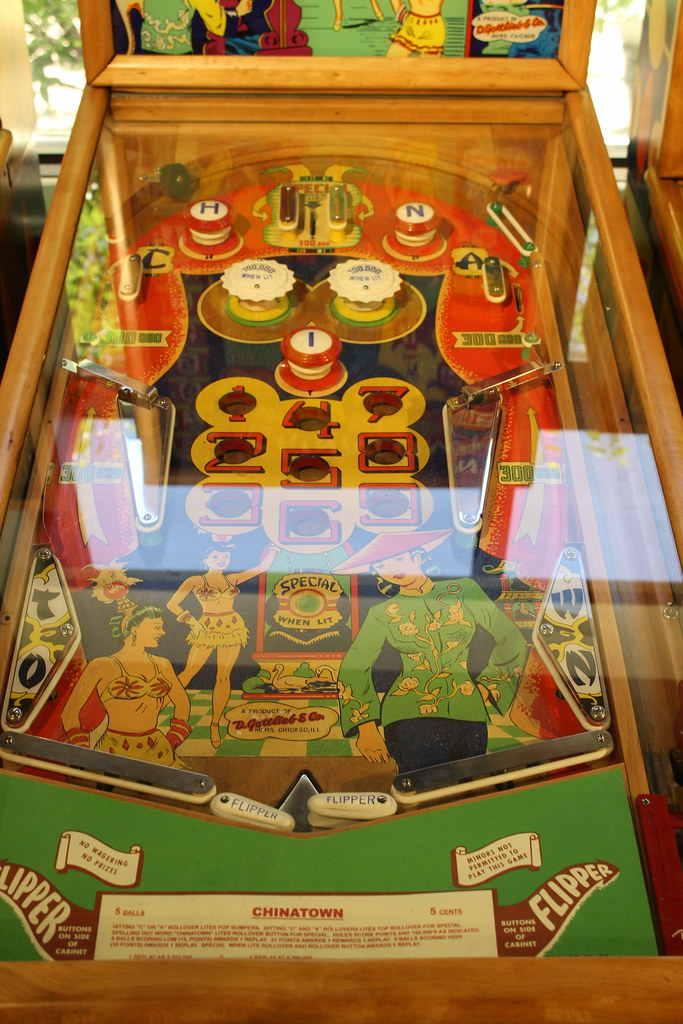Gottlieb Chinatown Playfield | Taken at the Roanoke Pinball … | Flickr