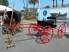 Antique wagons in Naples - Temporary exhibition