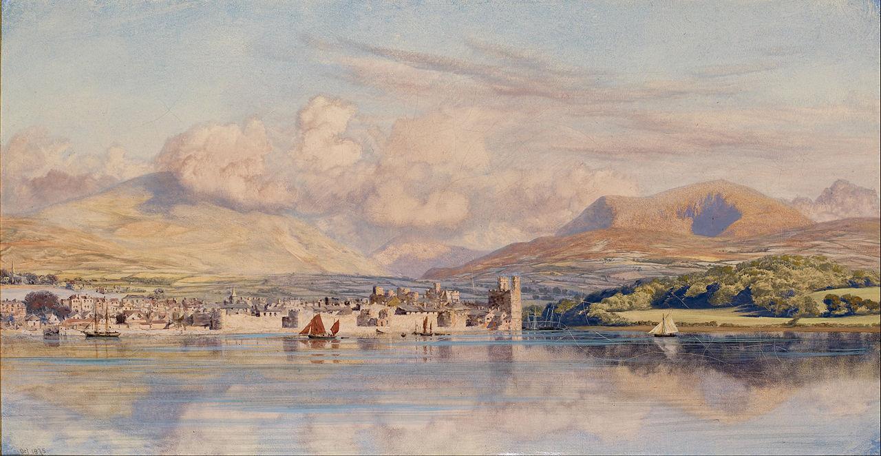 John Brett - Caernarvon, 1875