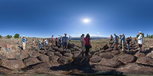 Mars Scientists Enjoying Earth