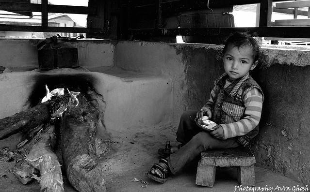 child of taluka village( har ki dun trek)