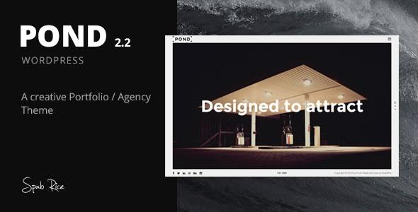 Pond v2.3.1 - Creative Portfolio / Agency WordPress Theme