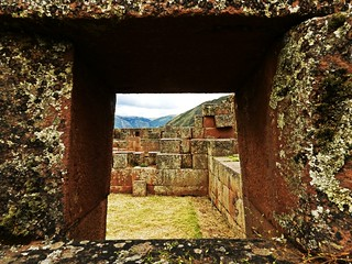 Inca ruins in Pisaq