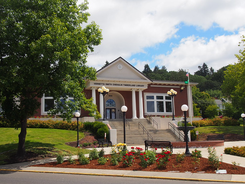 Vernetta Smith Chehalis Timberland Library
