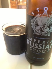 Stone Imperial Russian Stout 2012 Release by BeerHyped.com