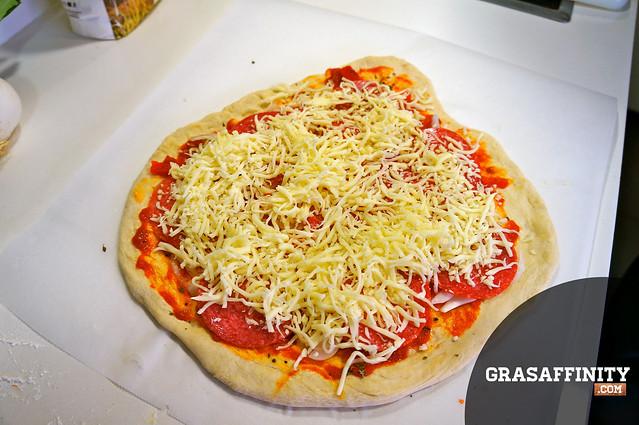 Receta de pizza casera italiana