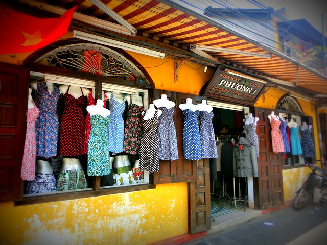 Custom made dresses in Hoi An, Vietnam