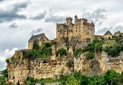 The Château de Beynac, in Stormy Weather [Le Château de Beynac au Temps Orageux]