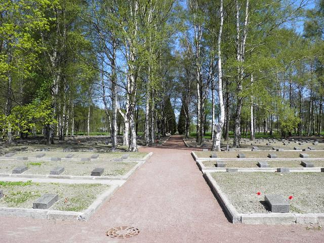 Индивидуальные захоронения // Individual burial places