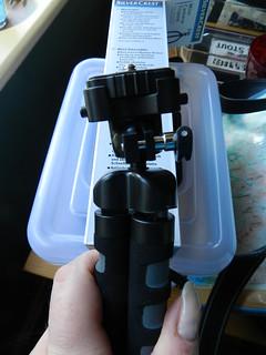 Mini tripod from LIDL, €5.99