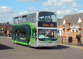 King's Lynn bus station 10/05/13 (c) Andy's Bus Blog