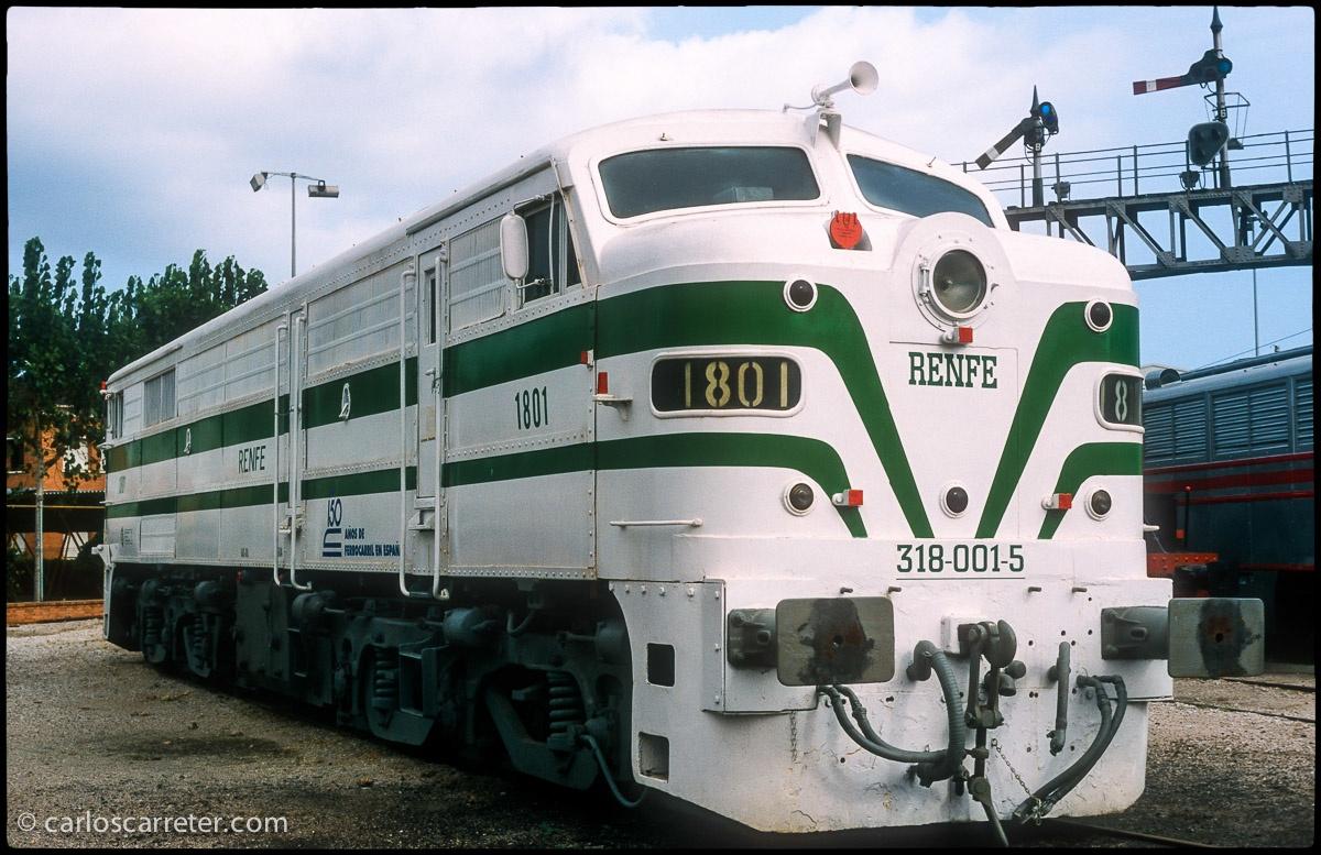 Locomotora diésel 1801