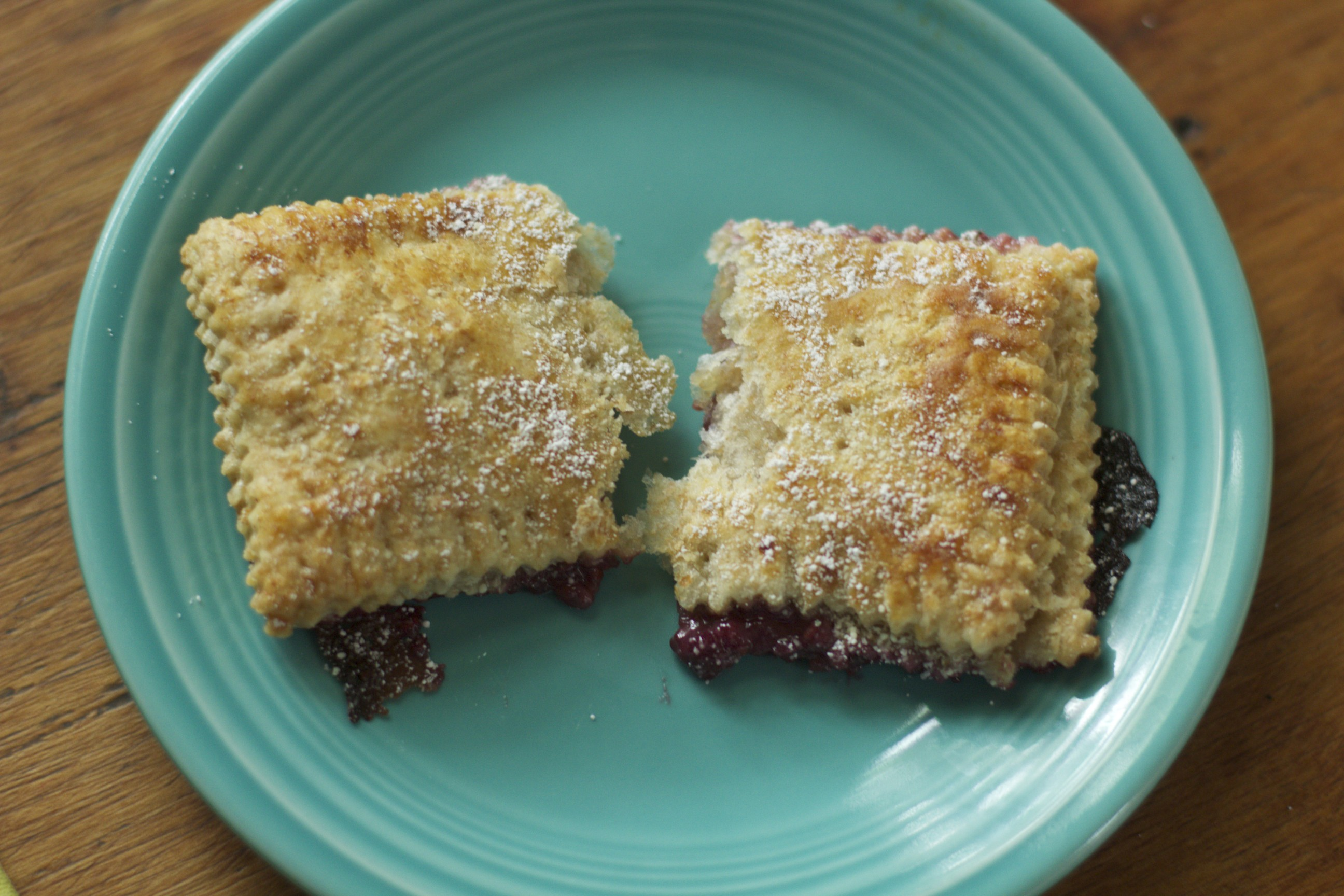 raspberry cream cheese toaster pastry