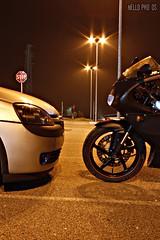Opel Corsa GSI and Aprilia RS