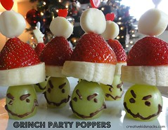 Grinch Party Poppers | Creative Kid Snacks