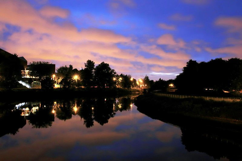Sky over the River Lagan