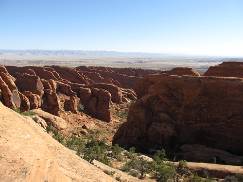 Views from the Devil's Garden Trail, Arches National Park, Utah