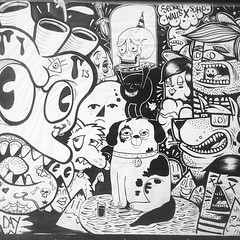sketch(0.0), manga(0.0), comic book(0.0), art(1.0), monochrome photography(1.0), fiction(1.0), drawing(1.0), cartoon(1.0), monochrome(1.0), illustration(1.0), black-and-white(1.0), comics(1.0),