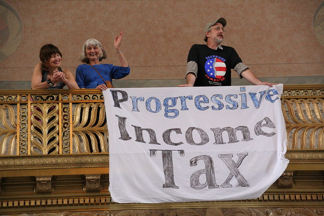 Progressive Income Tax Banner