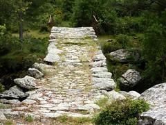 Boucle de la Tartagine : arrivée au pont génois de la Tartagine