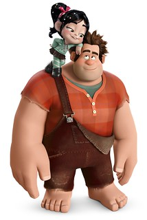 Wreck it Ralph - Inspiration