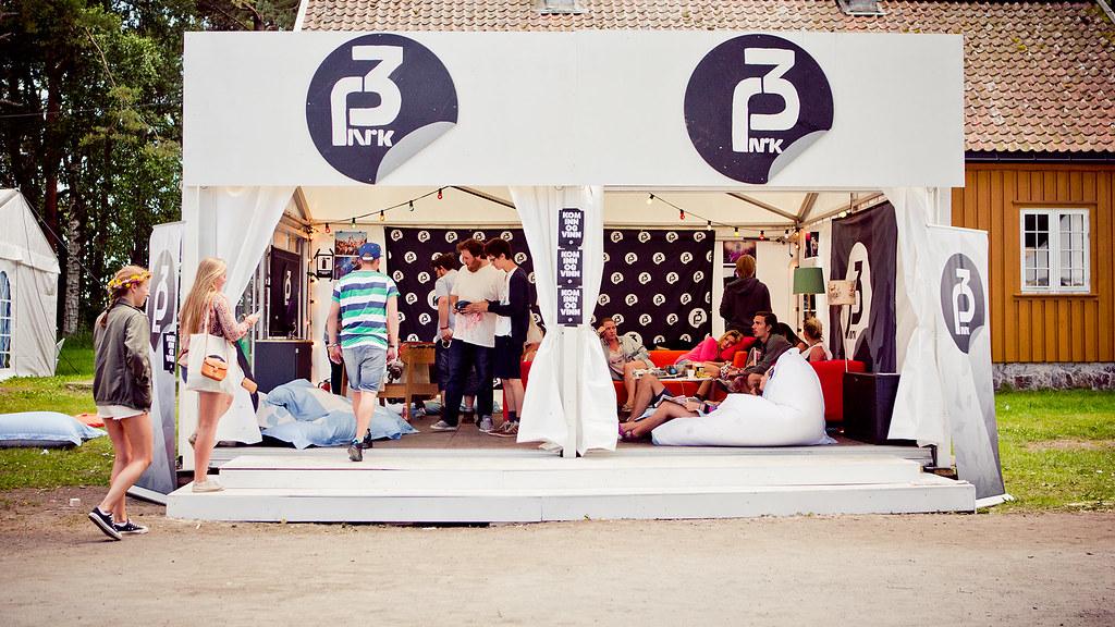 P3-teltet i handlegata, Hovefestivalen 2013