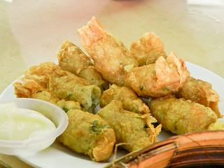DSCN0395 虾卷,prawn rolls