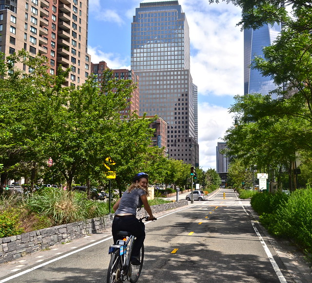 Bike Paths in NYC - cycling tours nyc