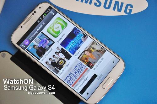 Samsung Galaxy S4 WatchON 2