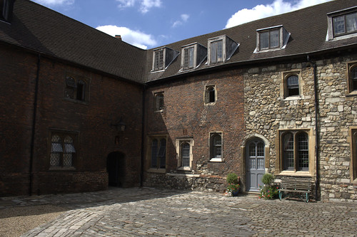Wash house courtyard