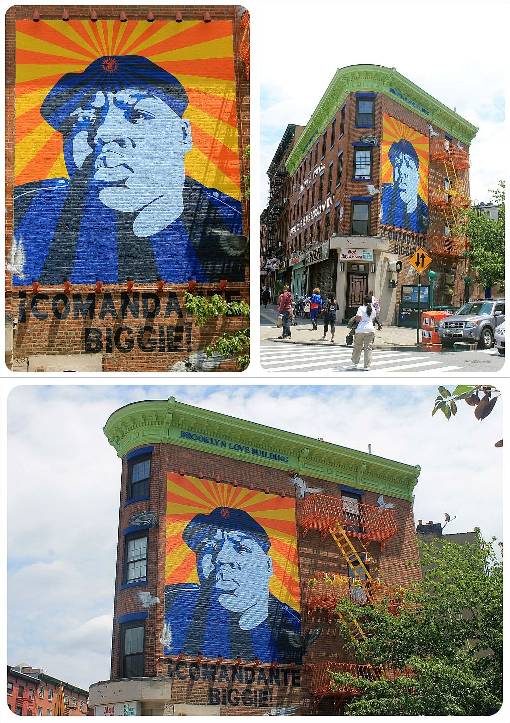 Biggie mural Brooklyn
