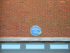 Photo of George IV blue plaque