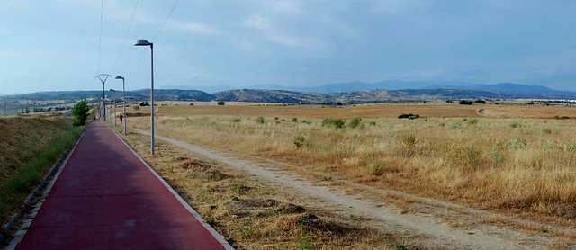 carril bici Villanueva de la Cañada