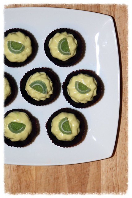 Chocolate Lime Cups