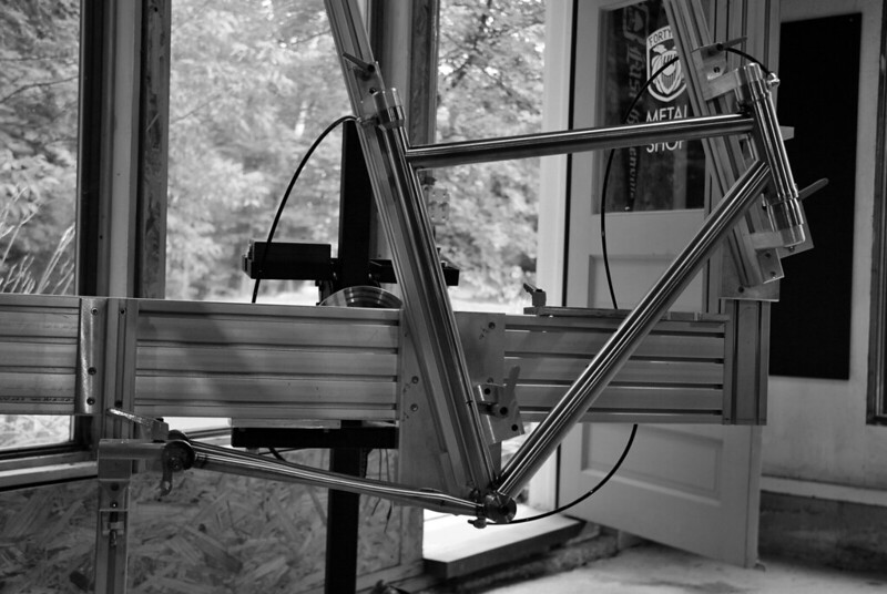 Paul's Frame all Tacked