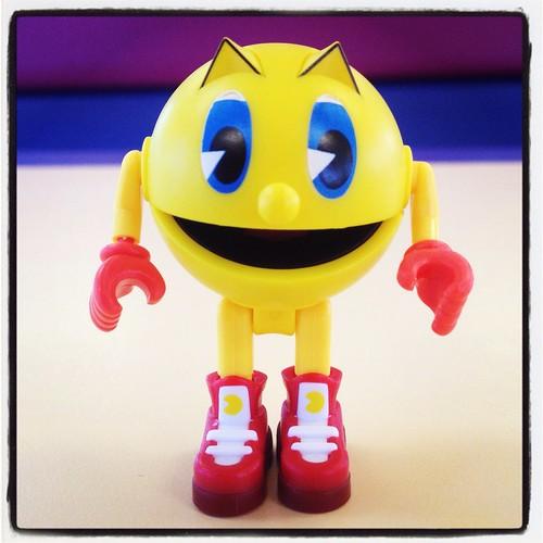 Pacman from Mega Bloks