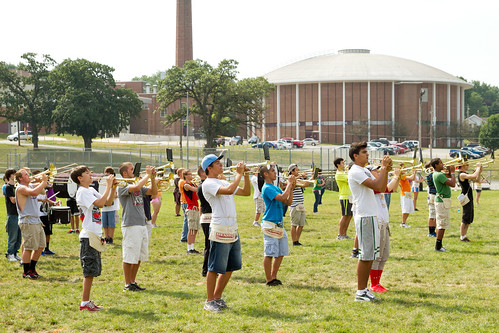 2013 Summer Marching Band Practice