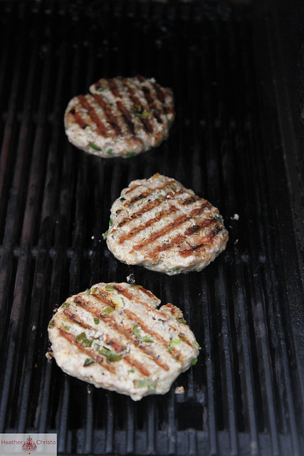 Grilled Asian Pork Burger