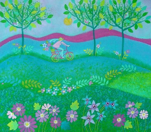 Spring Dreamscape - 6.3x5
