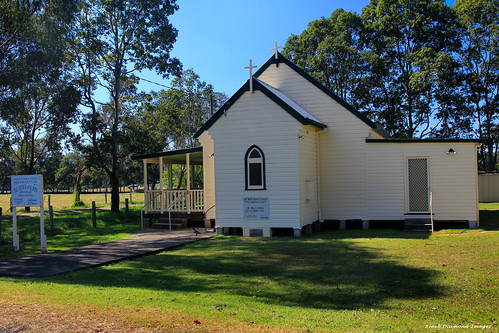 Anglican Church of St John, The Evangelist, Wallanbah Rd, Dyers Crossing, Near Nabiac, NSW