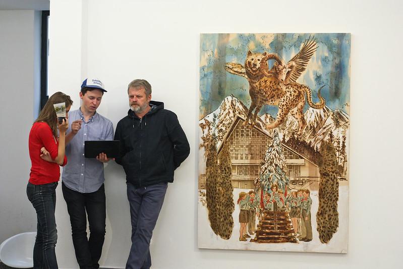 J. Mitríková & D. Demjanovič: Tatranské pastorále vernisáž výstavy