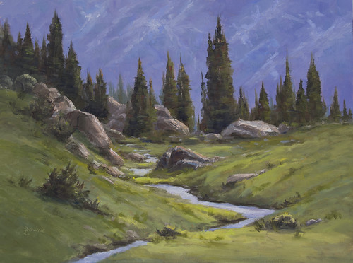 Rocky Mountain NP Tundra - Original Oil Painting