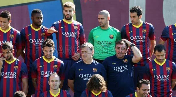 Sesión de fotos - FC Barcelona