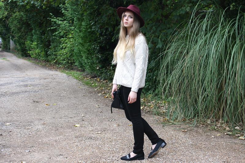 Zara ponyskin loafers