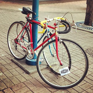 I spy a babe bike! But who's is it?!? #CIFF #Bushpornbabes
