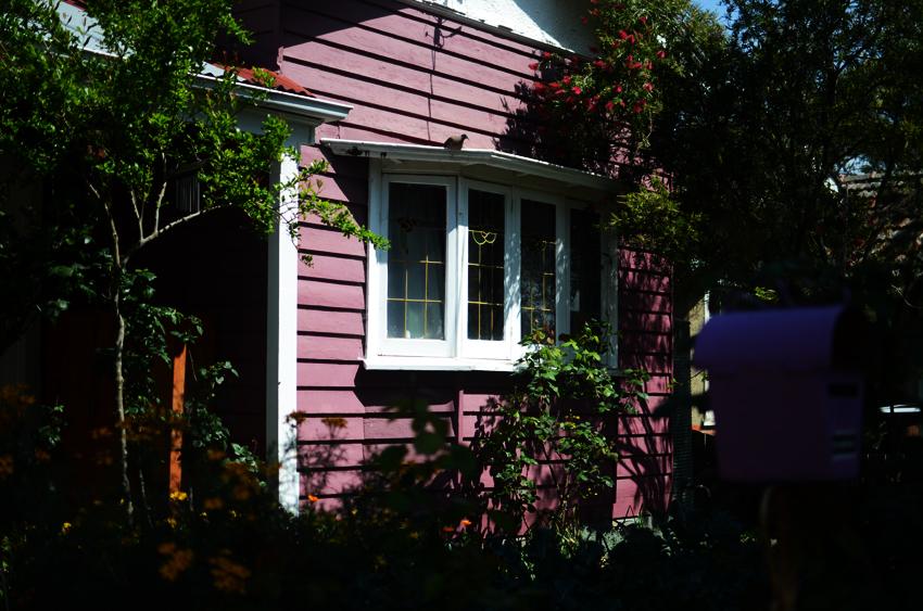 mauve house