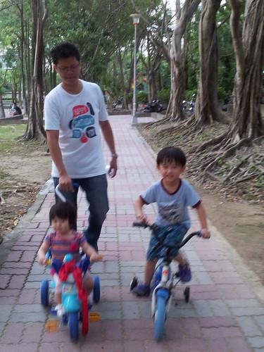 一起去騎車