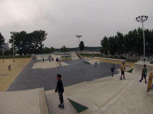 Pyongyang Skate Park
